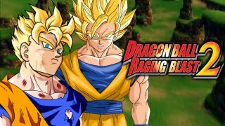 getlinkyoutube.com-DragonBall Raging Blast 2: SSJ Future Gohan VS Goku SSJ1 (Live Commentary)