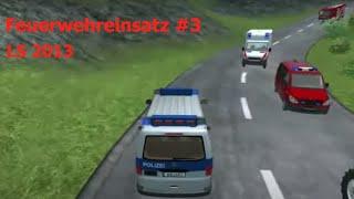 getlinkyoutube.com-Traktorunfall Ls 2013 Feuerwehreinsatz #3
