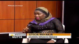 getlinkyoutube.com-Mwasuze Mutya: Stecia Mayanja avuddemu omwasi ku mbaga ye