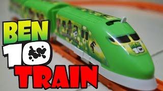 getlinkyoutube.com-ben 10 train for children - Train for children - Ben ten train
