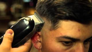 getlinkyoutube.com-skin fade with side part by lomas thebarber