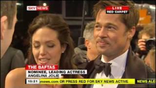 getlinkyoutube.com-Angelina Jolie & Brad Pitt BAFTA Red Carpet Interview