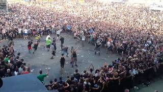 Wall of Death (EXTREME) - Callejon - With Full Force 2014