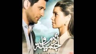 عمرو قطامش..علي الألفي - رنا عتيق ..  تتر مسلسل آدم و جميلة 2013