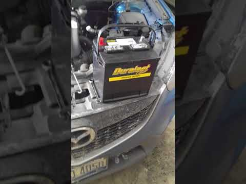 2013 Mazda CX-5 Touring Battery change