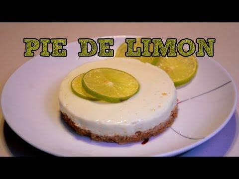Pay de limon MUY FÁCIL SIN HORNO | Recetas de postres y cocina faciles | Pie de limón Fácil