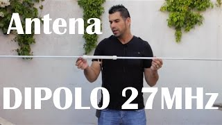 getlinkyoutube.com-Antena Dipolo para 27 MHz.