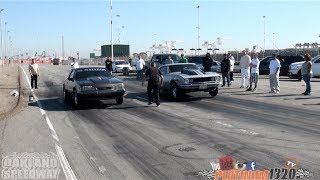getlinkyoutube.com-496 BBC Nitrous 67 Camaro vs LSX Nitrous Mustang