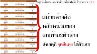 getlinkyoutube.com-วิธีการใช้สูตร คำนวนหวย