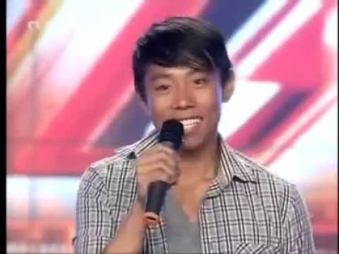 Best Voice X Factor Audition! Filipino Guy with an Amazing Voice!