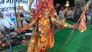 getlinkyoutube.com-Maa Khimaj ke Darbar (Bhinmal)me Bhajan Sandhiya- Sarita Kharwal and Rameshwar Mali