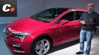 getlinkyoutube.com-Seat León 2017 | Presentación estática / Review en español | coches.net