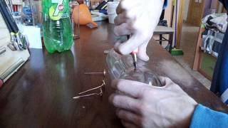 getlinkyoutube.com-Generador de plasma en una botella de coca cola (Parte1)