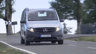 getlinkyoutube.com-Mercedes Benz Vito Panel Van 116 CDI Driving