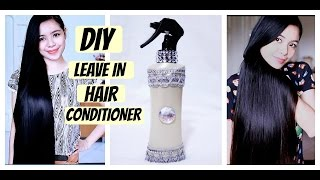 DIY Leave In Hair Conditioner for Dry Damaged & Tangled Hair-Beautyklove
