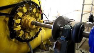 getlinkyoutube.com-140 Kw Francis turbine testing-HD