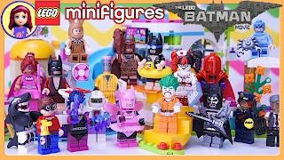 getlinkyoutube.com-LEGO Batman Movie Minifigures Complete Set at Heartlake Summer Pool Build - Kids Toys
