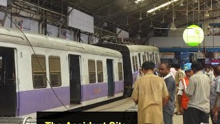 getlinkyoutube.com-Video 250 : LOCAL TRAIN ACCIDENT AT CHURCHGATE