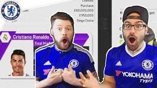 getlinkyoutube.com-HOLY SH*T RONALDO ACCEPTS CHELSEA! Chelsea Fifa 16 Career Mode Co-op #02