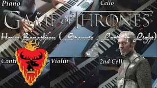 getlinkyoutube.com-Game of Thrones- House of Baratheon (Stannis, Lord of Light) theme -Piano/Orchestral cover