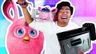 getlinkyoutube.com-Do Not DEEP FRY Furby Connect!