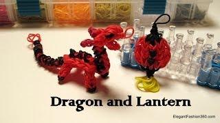 getlinkyoutube.com-Rainbow Loom Dragon Charm/action Figure - How to