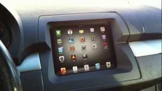 getlinkyoutube.com-Motorized iPad 3 Install BMW X5