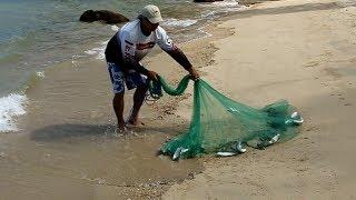 getlinkyoutube.com-A clean way to throw a cast net