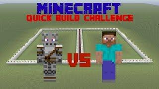 getlinkyoutube.com-Minecraft - Quick Build Challenge - Pixel Art