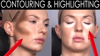 getlinkyoutube.com-[MAKE-UP COURSE] CONTOURING & HIGHLIGHTING | Make-Up Atelier Paris [HD]