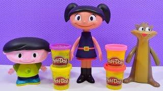 getlinkyoutube.com-O Show da Luna com vestido de Massinha Play-Doh Portugues - Brinquedo da Luna - Turma kids