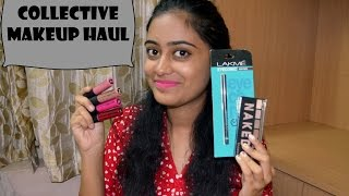 getlinkyoutube.com-Collective Makeup Haul   Lakme, Maybelline and more!