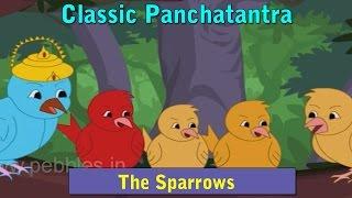 Greedy Sparrow | Panchatantra Stories Marathi | Animated Marathi Stories For Kids | Marathi Goshti
