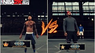 Prettyboyfredo Vs KellHitEmUp95 ! MyPark game of the year ! (Must Watch) NBA 2K16