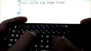 getlinkyoutube.com-Riitek Rii I6 mini keyboard, touchpad, backlit, learning remote (wireless 2.4Ghz)