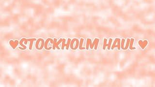 getlinkyoutube.com-♥Stockholms Haul♥