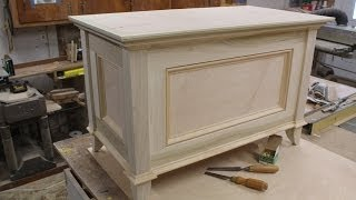 getlinkyoutube.com-Make a Blanket Chest / Toy Chest - Part 2 - Making the Top by Jon Peters