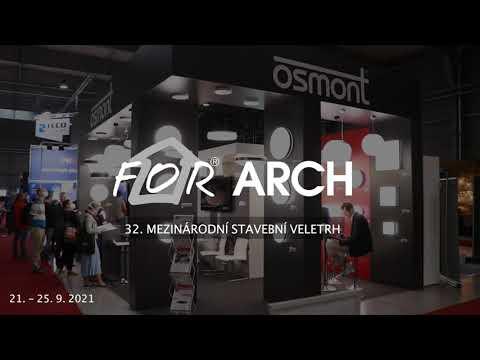 Osmont na veletrhu FOR ARCH 2021