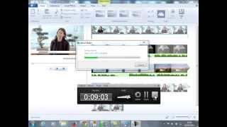 Adding overlay video in MovieMaker