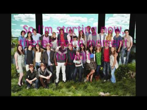 Send it on FULL- Disney Channel Stars HD WITH LYRICS ON SCREEN! Shine a light! RECYCLE :D