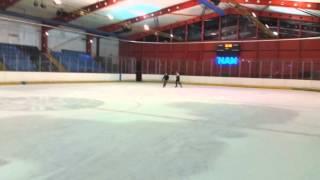getlinkyoutube.com-Friday Skating Fun - Silver blades