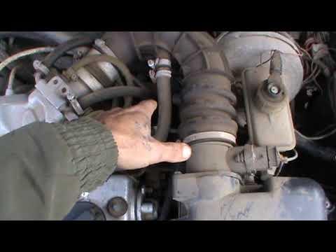 Про Сапун в Двигателе Машины