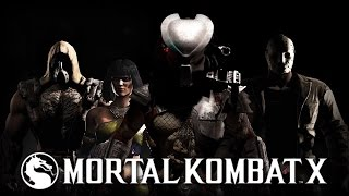 getlinkyoutube.com-MKX All DLC Characters Fatalities [Tremor] [Predator] [Tanya] [Jason]