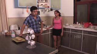 Shruti Bhabhi seduced in front of her Husband - cheating with his friend romancing bold scene