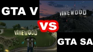 getlinkyoutube.com-GTA V vs. GTA San Andreas - Comparison / Porównanie