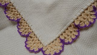 getlinkyoutube.com-Orilla # 22 Crochet en Esquina