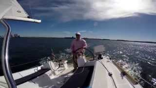 getlinkyoutube.com-Sailing the Beneteau Oceanis 35 Alone