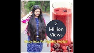 getlinkyoutube.com-Magic Juice For Fighting Hairfall and A Super Glowing Skin