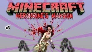getlinkyoutube.com-Minecraft - HEROBRINE'S MANSION: #3 Benetha a bruxa
