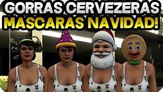 getlinkyoutube.com-GTA V ONLINE 1.24./1.26 | GORRAS CERVECERAS Y NAVIDAD | MASCARAS NAVIDAD | GTA ONLINE 1.24